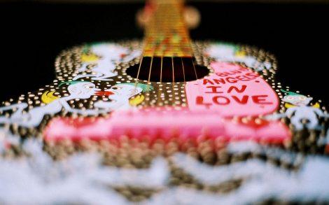 Guitarra Decorada.