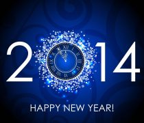Happy New Year 2014 Imagen.