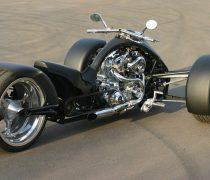 Harley Davidson moto negra