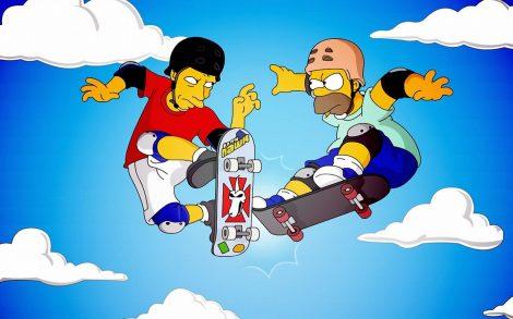 Homer Simpson VS Tony Hawk