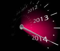 Imagen para felicitar año nuevo 2014.