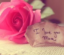 Imagen Te quiero Mamá.