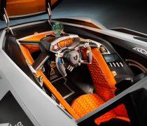Interior de Lujo Lamborghini Egoista.