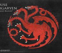 Juego de Tronos. Wallpaper Casa Targaryen
