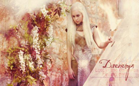 Juego de Tronos. Wallpaper Daenerys Targaryen