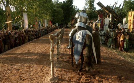 Justas Combate a caballo en Juego de Tronos