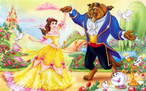 La Bella y la Bestia. Wallpapers Disney
