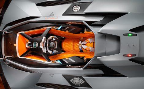 Lamborghini Egoista Interior.