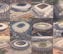 Los estadios del Mundial de Brasil 2014