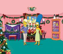 Los Simpson Merry Christmas.