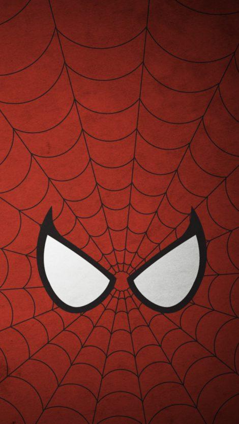 Máscara Spiderman para Iphone.