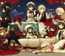 Merry Christmas Anime Wallpaper.