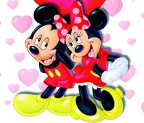 Mickey y Minnie la pareja perfecta