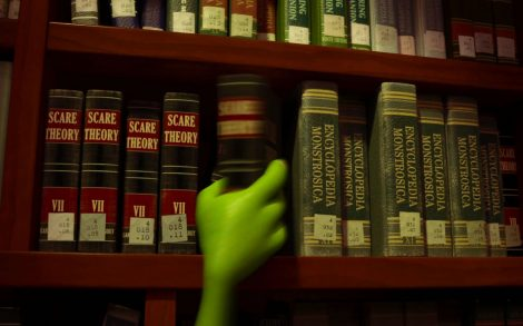 Monsters University Biblioteca.