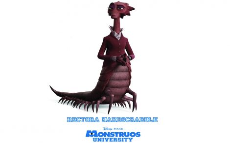 Monsters University Decana Rectora Hardscrabble.