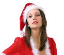 Mujeres Vestidas Santa Claus