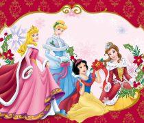 Navidad de Princesas Disney.