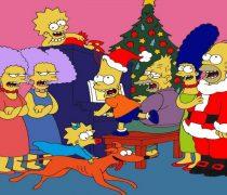 Navidad Simpson.