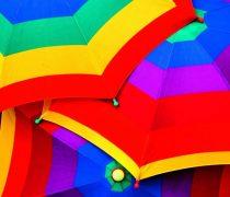 Paragüas de Colores