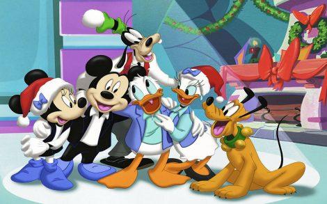 Personajes Disney Navidad 2013