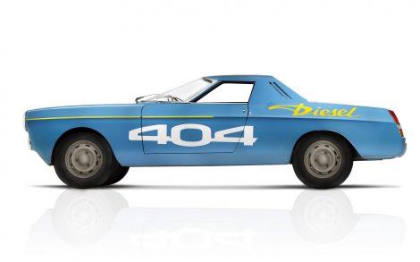 Peugeot 404 para fondo.