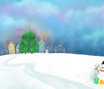 Postales de Navidad Infantiles