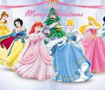 Princesas de la Navidad Wallpaper.