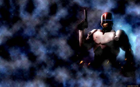 Robocop Fondo. Imágenes de cine para escritorio.