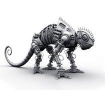 Robot Camaleón 3D.