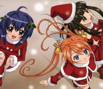 Santa Girls Anime