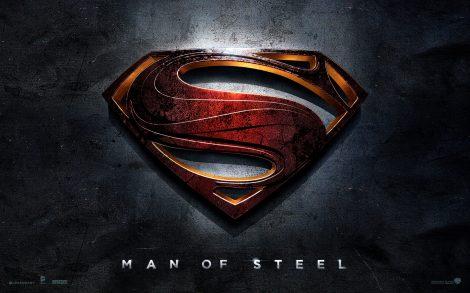 Superman Logo Wallpaper.