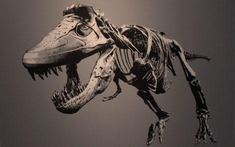 Tyrannosaurus Nike Wallpaper.