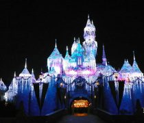 Un castillo en año Nuevo.