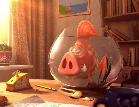 Un pez muy Raro