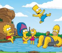 Vacaciones Familia Simpson Wallpaper.