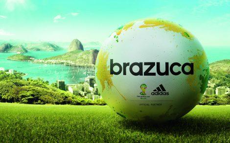 Adidas Brazuca Balón Mundial Brasil 2014.