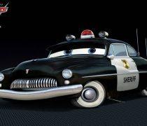 Wallpaper Cars 2 Sheriff