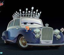 Wallpaper Cars 2 The Queen