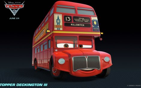Wallpaper Cars 2 Topper Deckington III