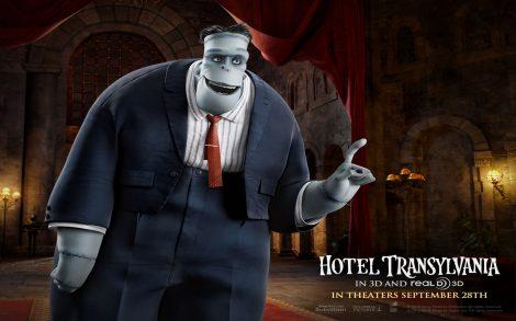 Wallpaper de Cine. Hotel Transylvania. Frankestein