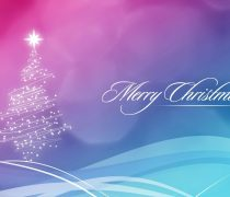 Wallpaper de Navidad en tonos suaves