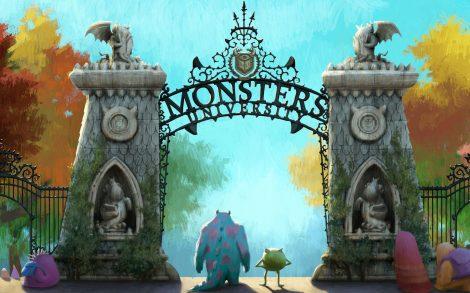Wallpaper Disney Monsters University