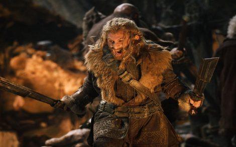 Wallpaper The Hobbit. Enano Guerrero