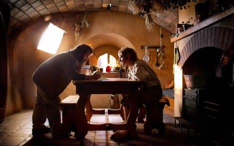 Wallpaper El Hobbit tras las cámaras