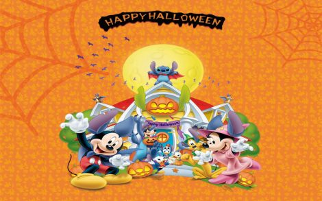 Wallpaper Feliz Halloween Disney