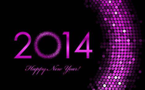 Wallpaper Happy New Year 2014.