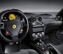 Wallpaper del Interior de un Ferrari