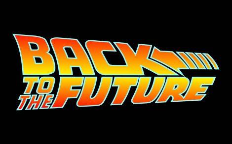 Wallpaper Logo Regreso al futuro