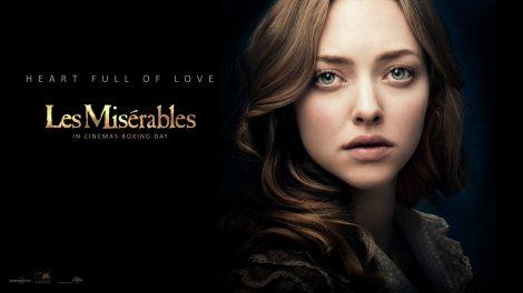 Wallpaper Los Miserables. Amanda Seyfried