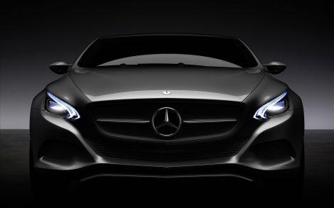 Wallpaper Mercedes Benz F800.